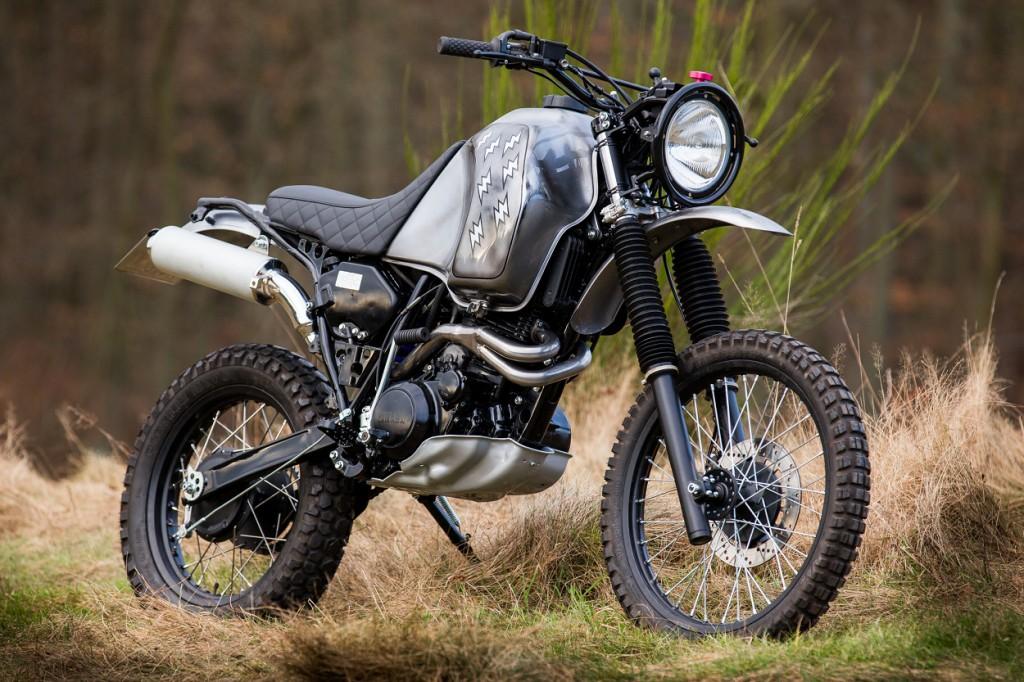 Yamaha XT600Z Tenere Scrambler