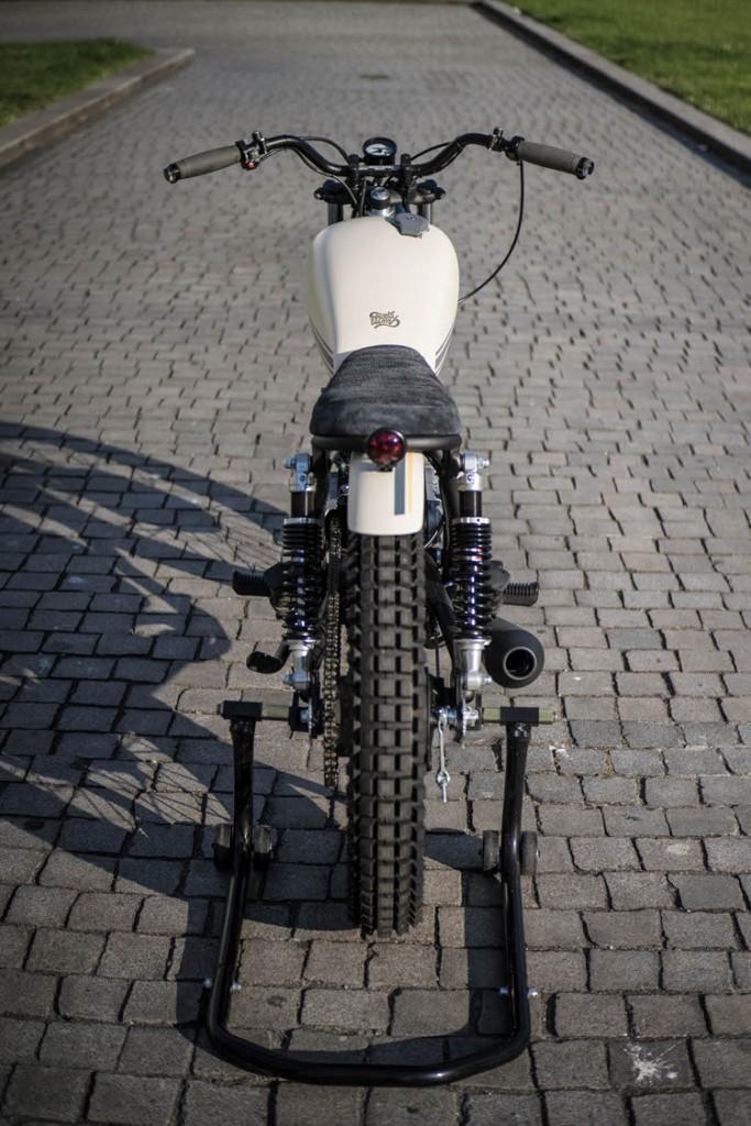 Yamaha SR250 Tracker