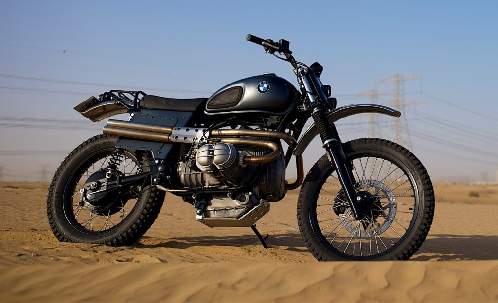 BMW R80 Desert Sled