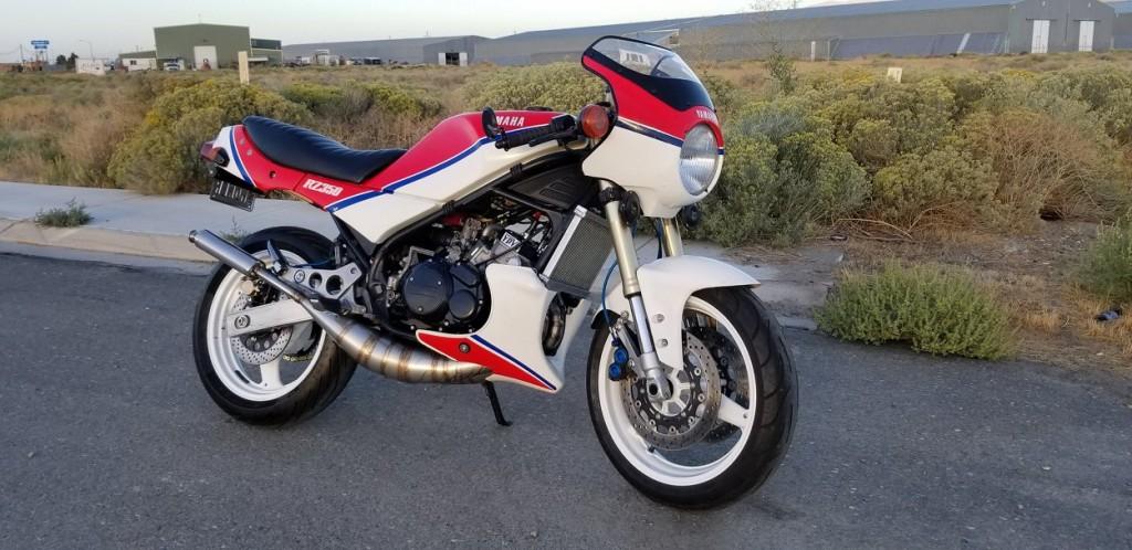 Yamaha RZ350 Restomod
