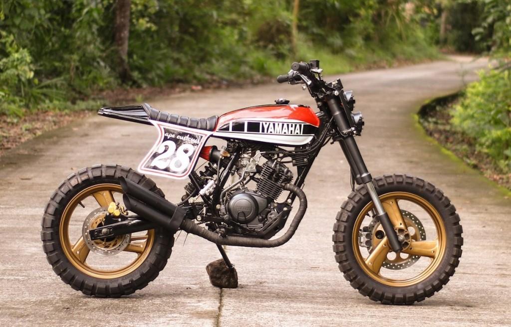 Yamaha XTZ125 Tracker