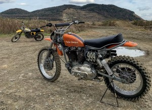Harley Ironhead Motocross Scambler