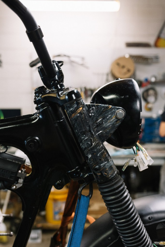 Honda CL350 Scrambler Custom