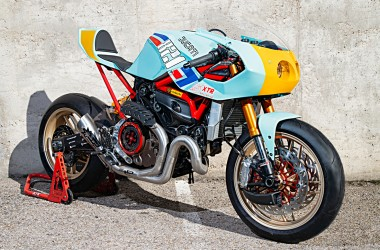 Ducati Monster 821 Cafe Racer