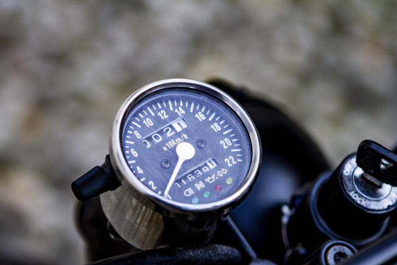 Yamaha SR250 Tracker Scrambler