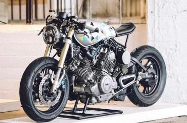 Yamaha XV750 Virago Cafe Racer