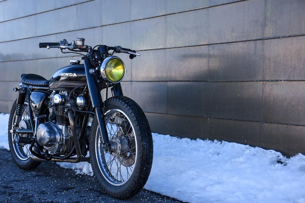 Honda CB350 Brat Cafe Racer
