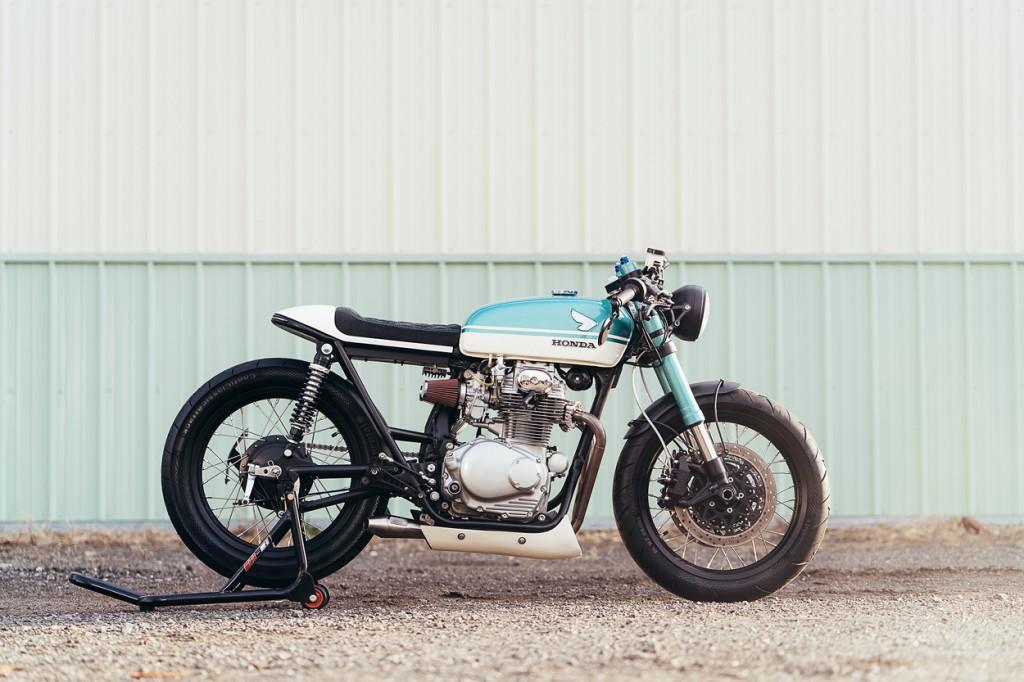 Honda CB350 Restomod Cafe Racer