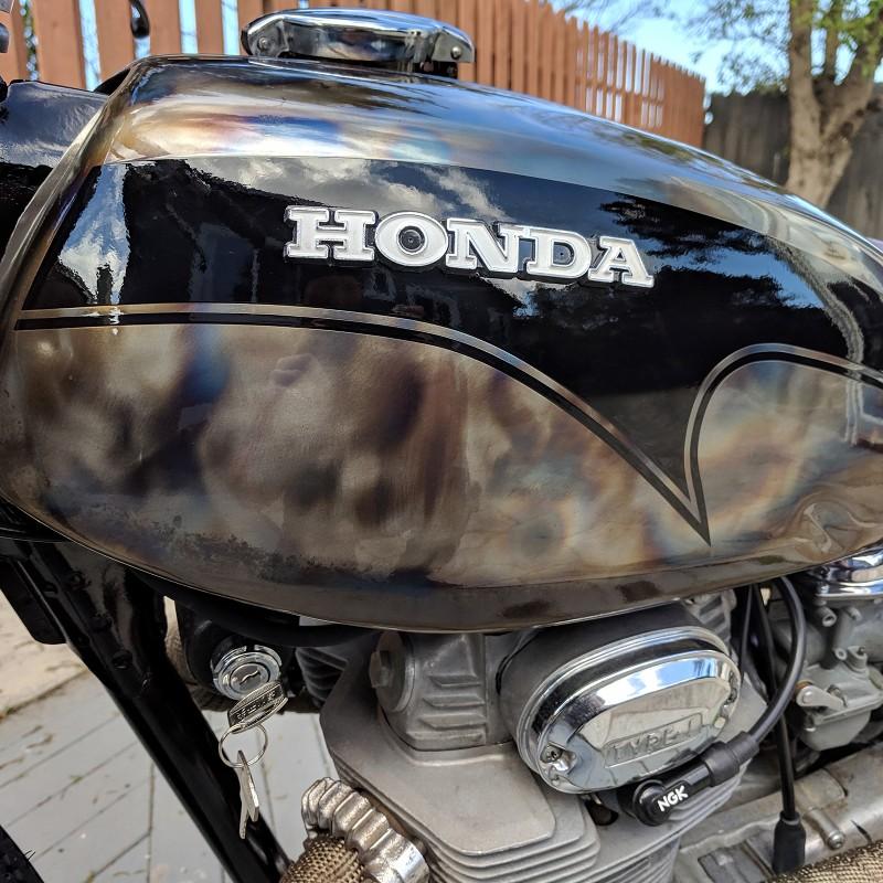 Honda CL350 Brat Scrambler