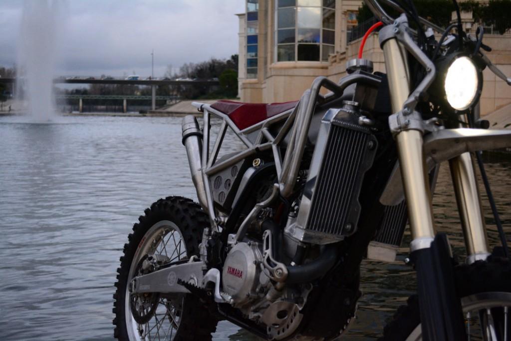 Yamaha WR450F Scrambler