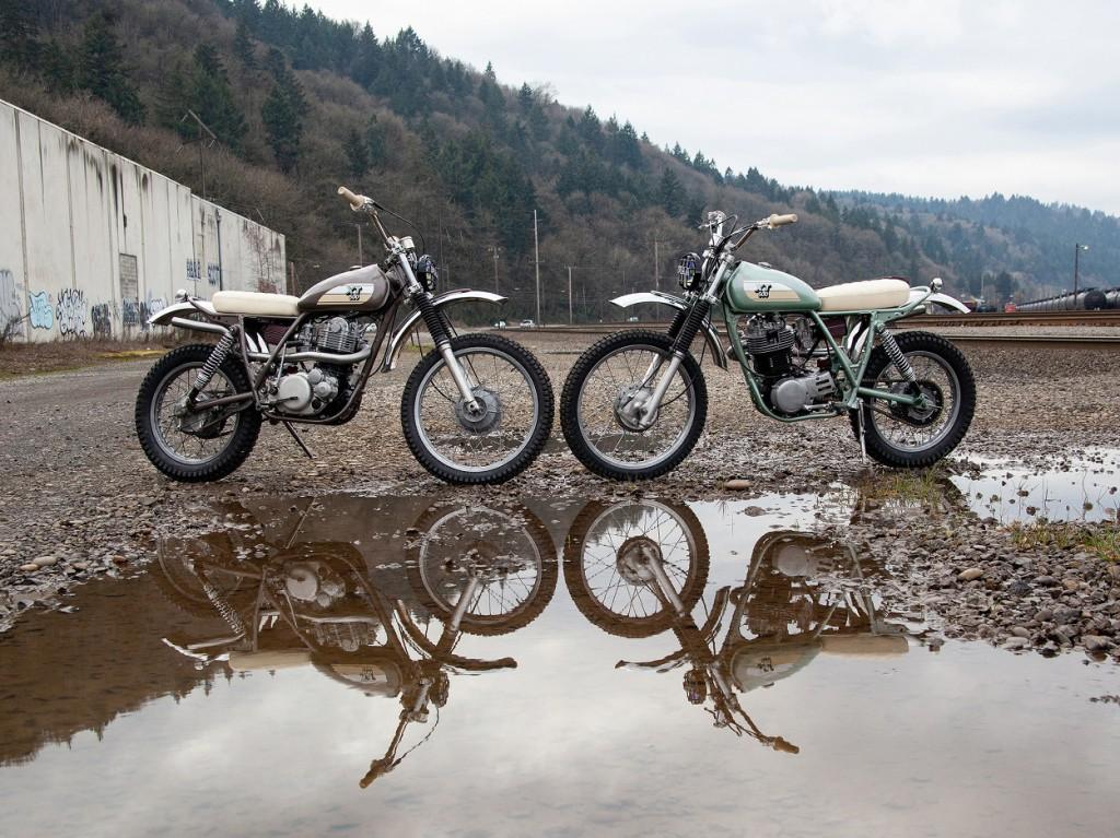 Yamaha XT500 Scramblers