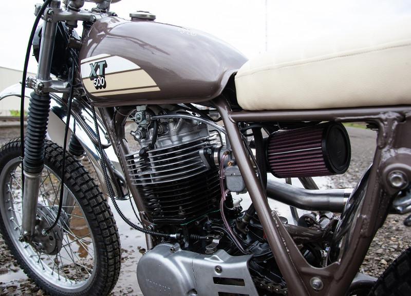 Yamaha XT500 Customs