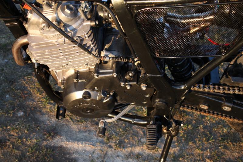 Honda NX650 Baja Scrambler