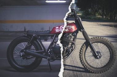 Suzuki GN250 Brat Tracker