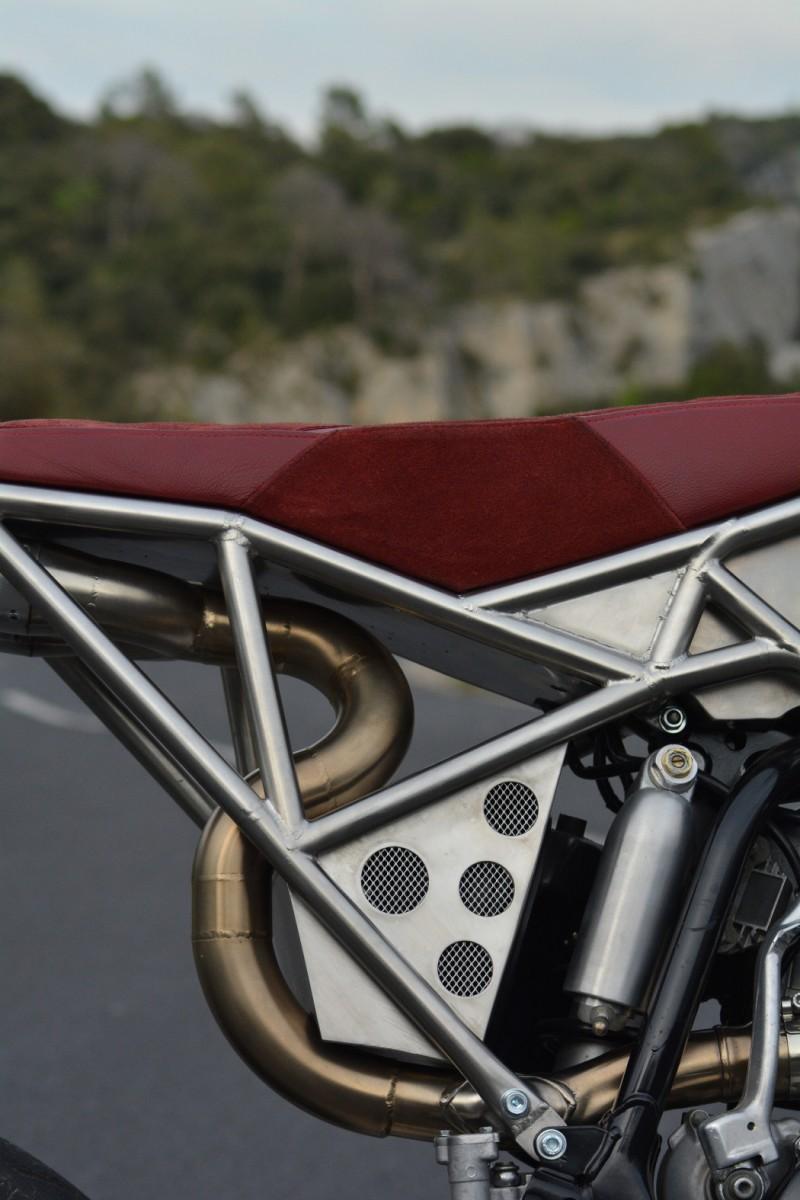 Yamaha WR450 Supermoto Custom
