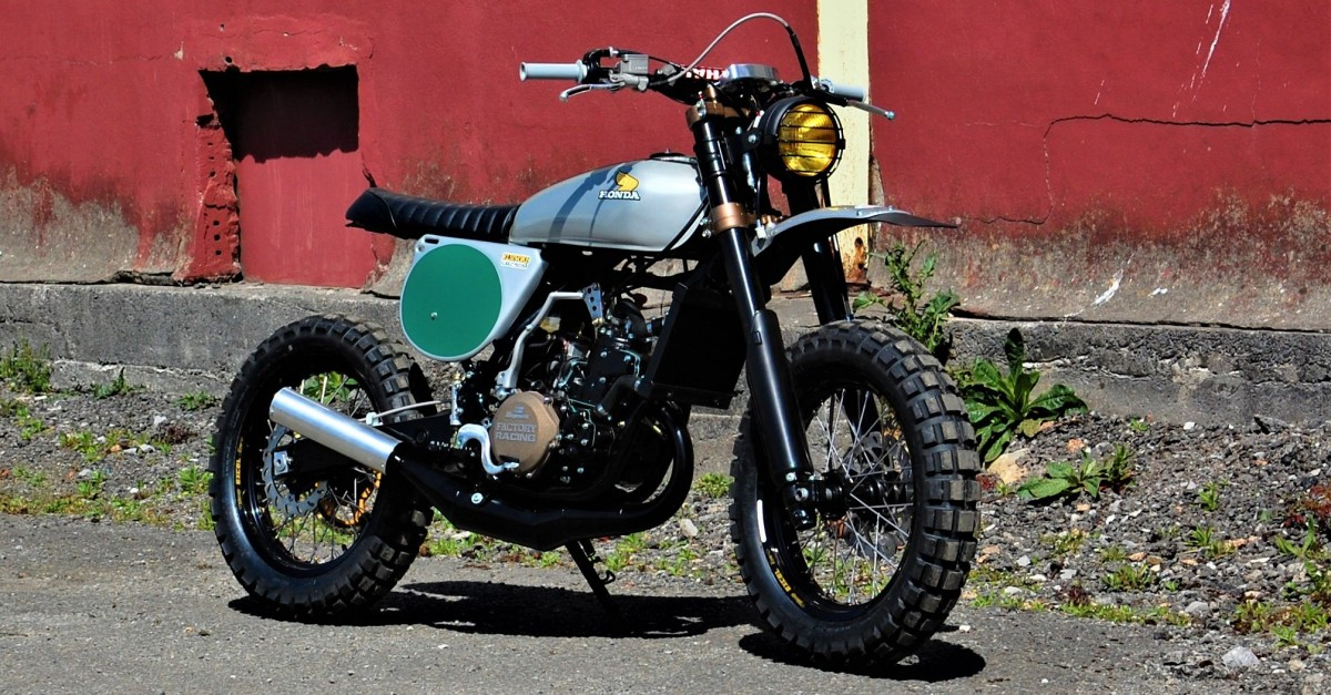 Elsinore Tribute Honda Cr250 Scrambler By Andrew