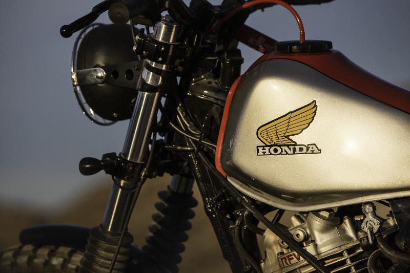 Honda NX650 Street Scrambler - Petrology