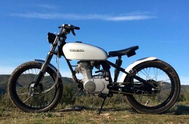 Honda CB125 Bobber Tracker