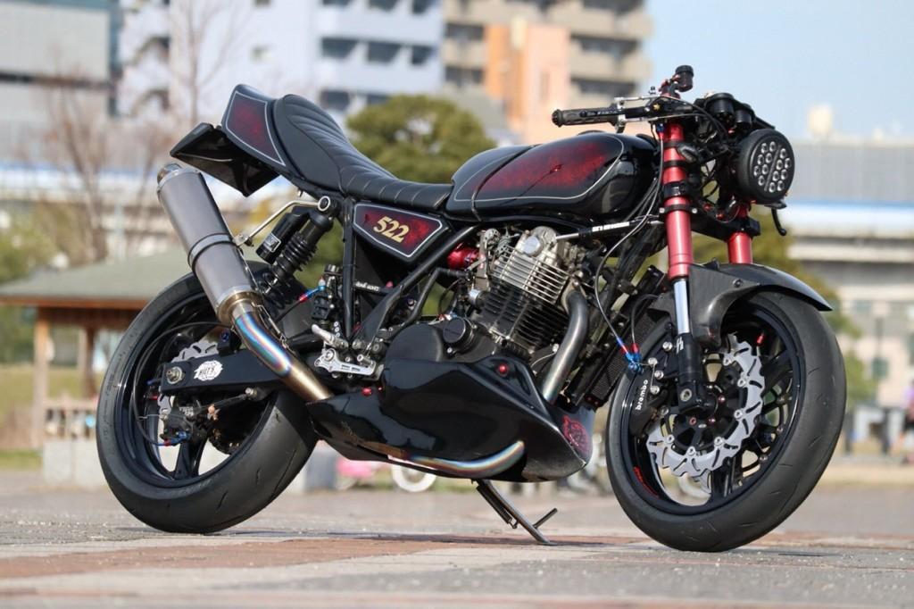 Yamaha SR500 Cafe Fighter