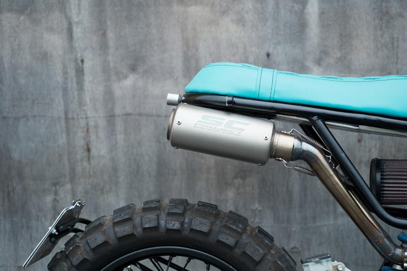 Honda NX650 Dominator Scrambler