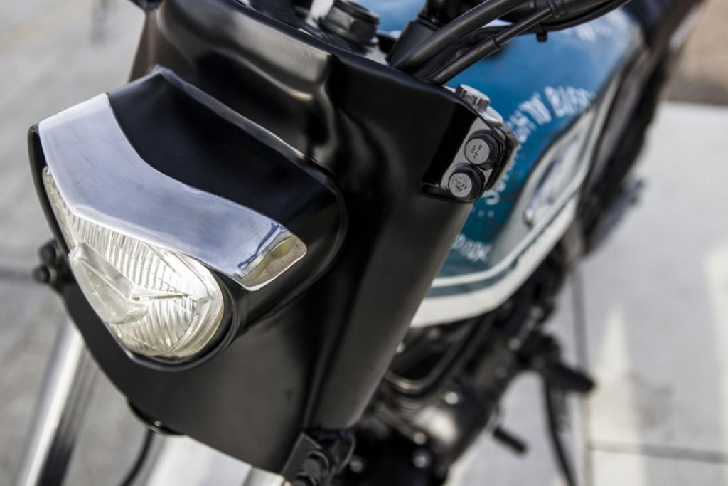 Honda Dominator Street Tracker