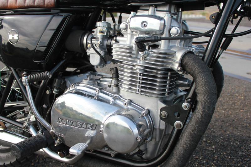 Kawasaki KZ400 Street Scrambler