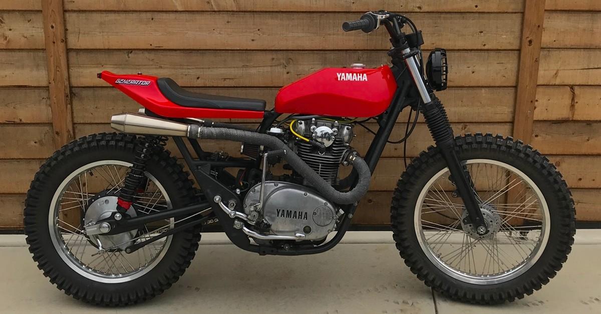 Red Ripper: Yamaha XS650 by Paul Hartman