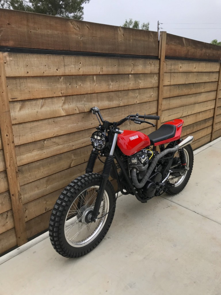 Yamaha XS650 Tracker Scrambler