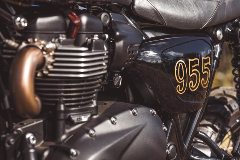 Custom Triumph Scrambler 1200