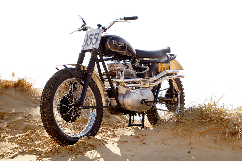 Steve McQueen's 1961 TR6 Desert Sled