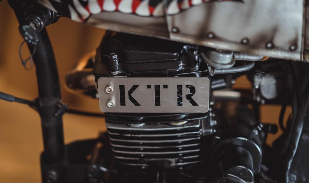 Kymco KTR 150 Scrambler