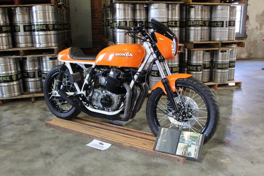 Supercharged 1973 Honda CB750 by Justin Blue