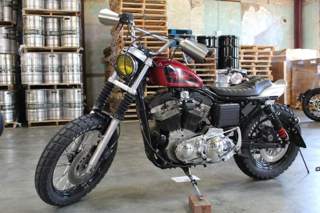 1989 Harley 1200 Sportster by Taylor Brown of BikeBound