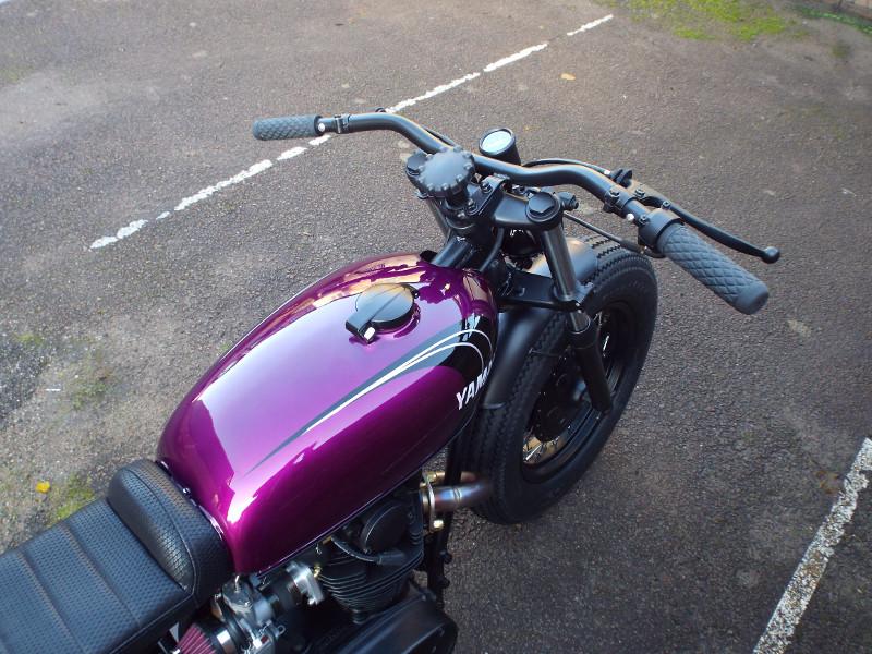 Yamaha XS650 XS1B Brat Tracker
