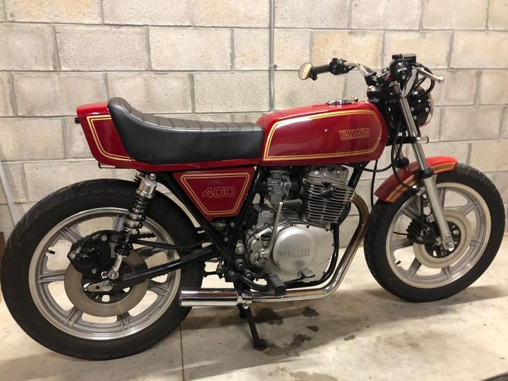 Yamaha XS400 Cafe
