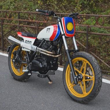 Honda FT500 Street Tracker