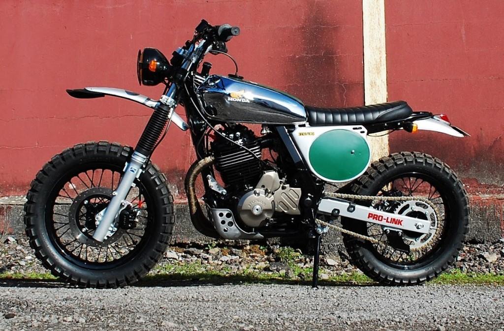 Custom Honda NX650 Dominator