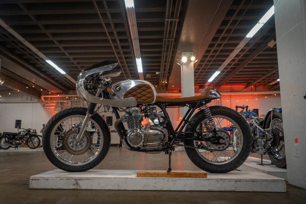 1974 Honda CB550 by Kickstart
