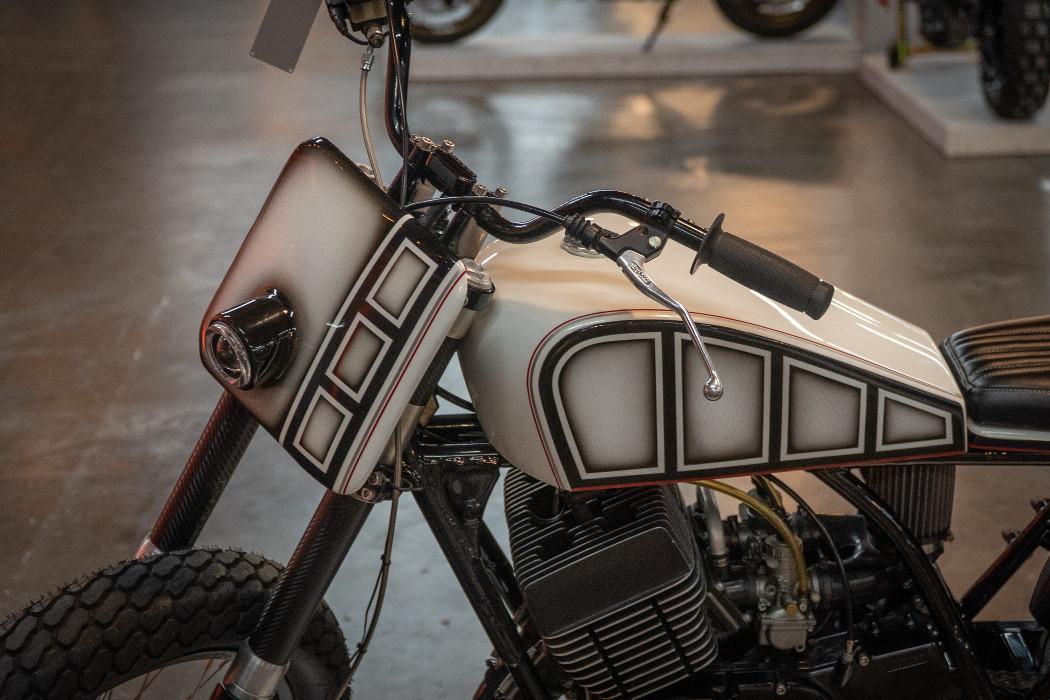 1977 Yamaha RD400 by Mark Miller