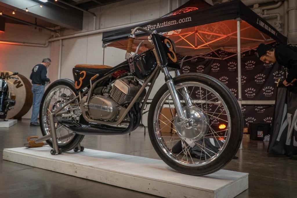 1974 Yamaha RD350 by Mark Miller (@nojoke2stroke)
