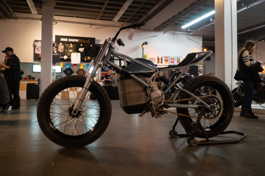 """2019 Alta """"Death Rattle"""" by Blatant Moto."""