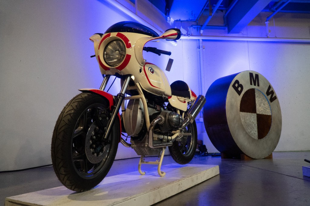 90s BMW R100 by Cheshire.