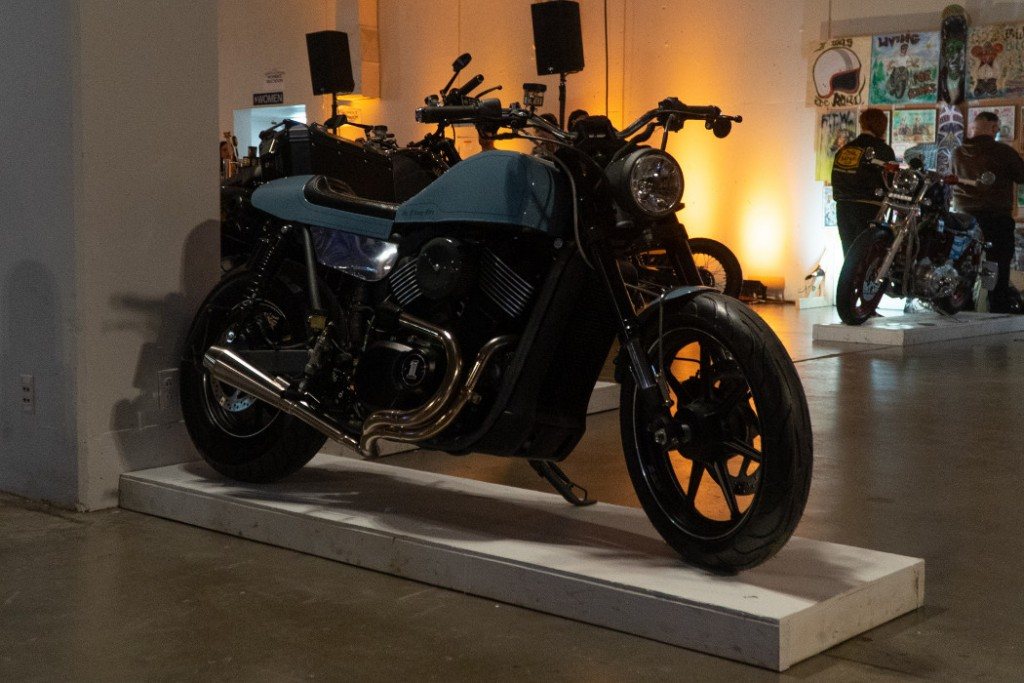 H-D Street 750 by Number 8 Wire Moto.