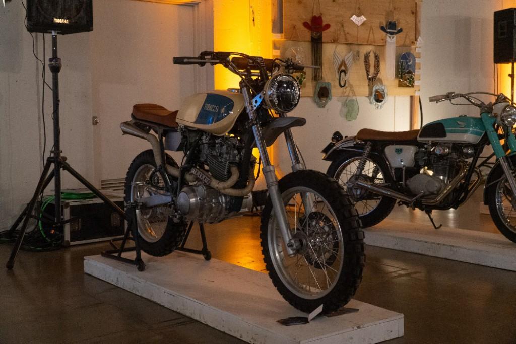 1984 Yamaha XT600 by Ava Wolff.