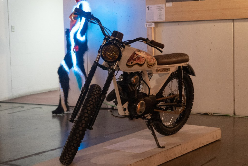 1971 Honda CL100 by Spoken Moto.