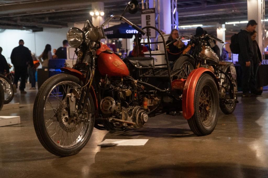 1940 H-D Trike by Morto.