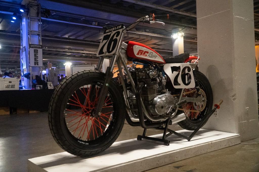 1976 Yamaha XS650 by Jerry Searles.