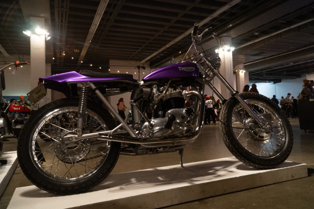 1971 Triumph Bonneville by Ian Howie.