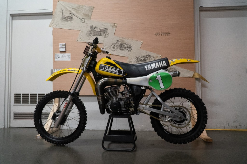"1981 Yamaha YZ250 ""Hurricane"" by Howie Moto."