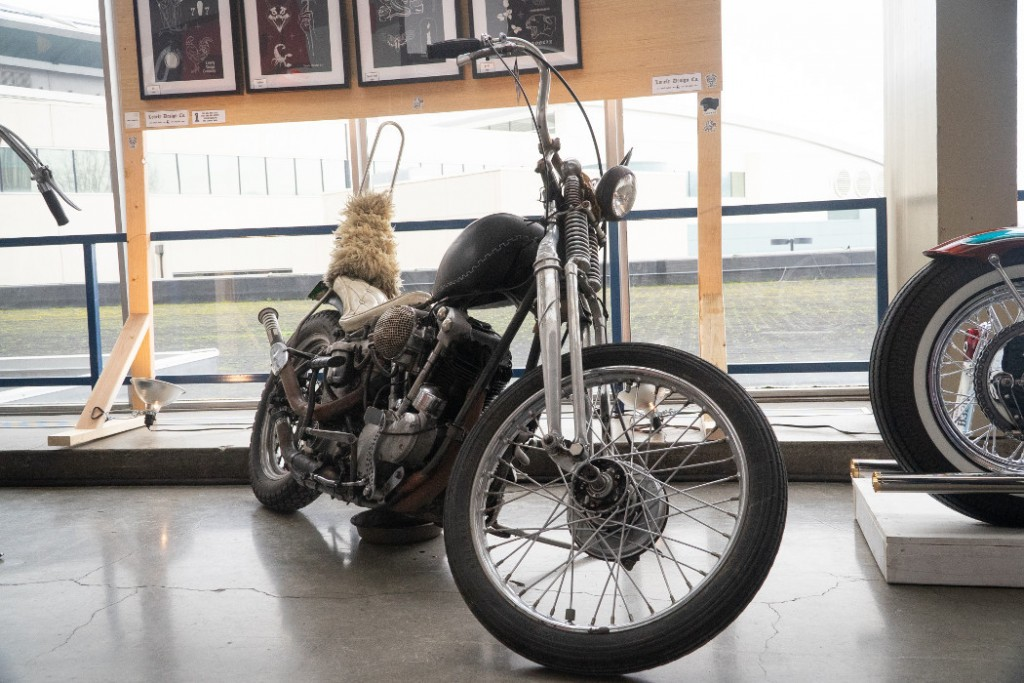 1940 H-D Knucklehead by Moto Galore.